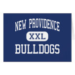 New Providence Bulldogs New Providence Greeting Cards