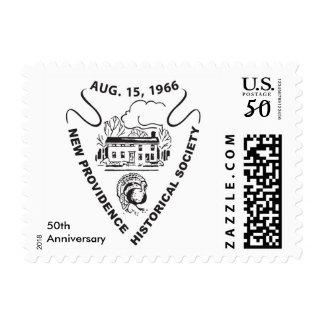 New Providence Historical Society Stamp