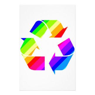 New Rainbow Recycle Stationery