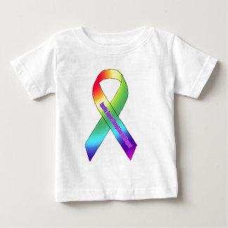 new rainbow ribbon.PNGBros Baby T-Shirt