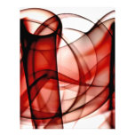 New Rainbow Waves Collection - Red Wave Personalized Letterhead