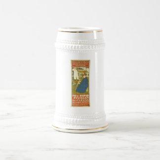 New Rapid Rijwielen 1897 Netherlands Beer Stein