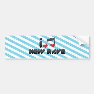 New Rave fan Bumper Sticker
