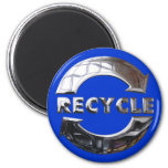 New Recycle Logo Fridge Magnets
