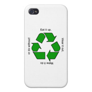 New Recycle Motto Logo iPhone Case