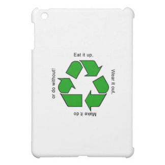 New Recycle Motto Products iPad Mini Cover