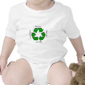New Recycle Motto T-shirt