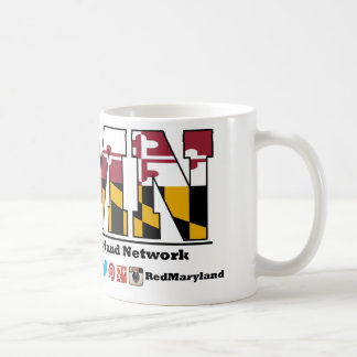 New Red Maryland Logo Mug