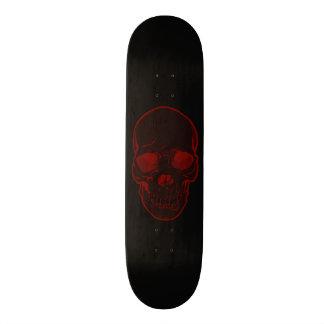 New Red Skull Boys/Unisex Skateboards Graphics
