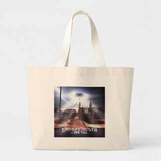 New Release I See You WorldWide Large Tote Bag