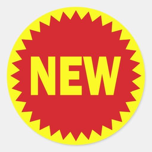 New Retail Sales Sticker