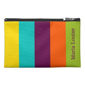 New Retro Palette Stripe Personalized Travel Accessory Bag