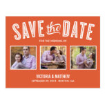 NEW RETRO | SAVE THE DATE ANNOUNCEMENT POST CARD
