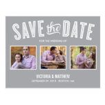NEW RETRO | SAVE THE DATE ANNOUNCEMENT POST CARDS