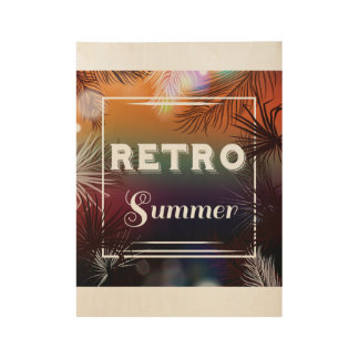 New! Retro summer poster in shop