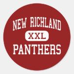 New Richland - Panthers - High - New Richland Sticker