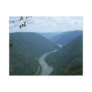 New River Canvas Print