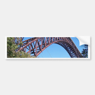 New River George Bridge Bumper Sticker