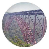 New River Gorge Bridge Dinner Plate