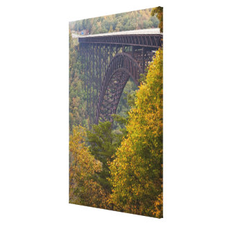 New River Gorge Bridge, New River Gorge Stretched Canvas Print