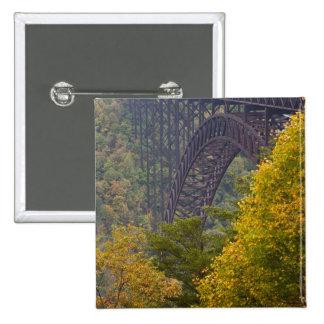 New River Gorge Bridge, New River Gorge Pinback Button