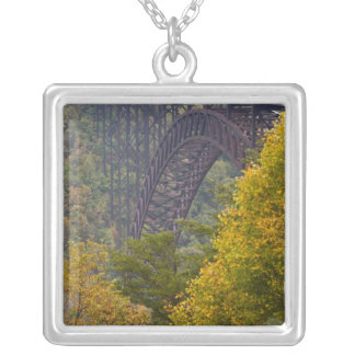 New River Gorge Bridge, New River Gorge Silver Plated Necklace