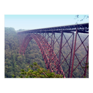 New River Gorge Bridge Postcard