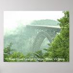 New River Gorge Bridge WVa Print