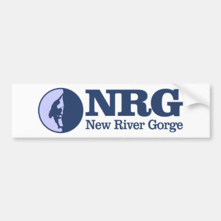 New River Gorge (Climbing) Bumper Sticker