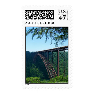 New River Gorge Postage Stamp
