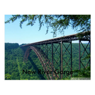 New River Gorge Postcard