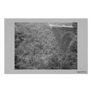 new river gorge posters
