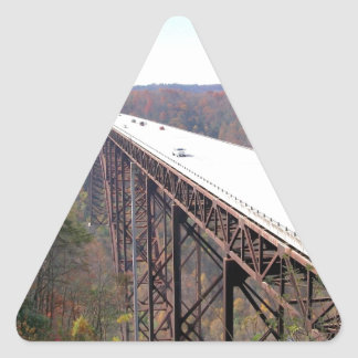 New River Highway Triangle Sticker