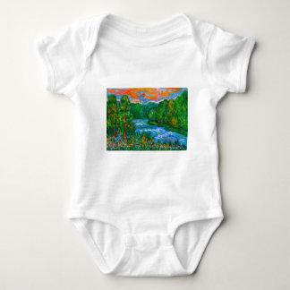 New River Rush Baby Bodysuit