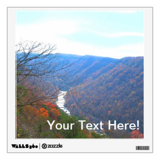 New River Scenery Wall Decal