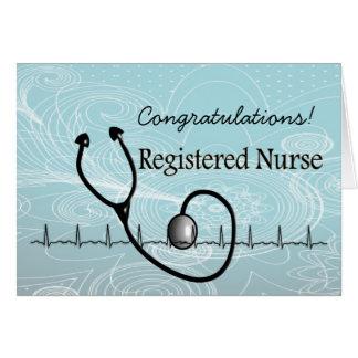 New RN Registered Nurse Congratulations Card