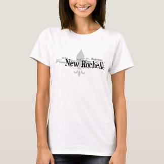 New Rochelle - Black T-Shirt