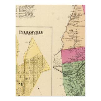 New Rochelle, ciudad Pelhamville Tarjeta Postal