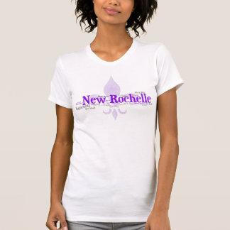 New Rochelle - púrpura/gris Camisetas