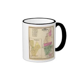 New Rochelle, Town Pelhamville Ringer Coffee Mug
