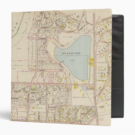 New Rochelle ward 3, New York 2 Vinyl Binder