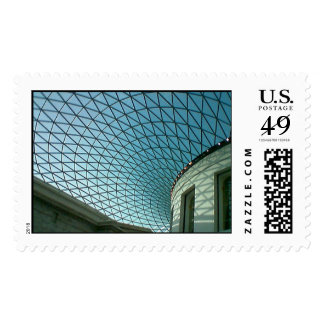 New Roof Enclosure at The British Museum Postage