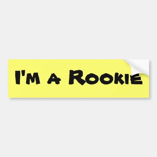 New Rookie Driver Bumper Sticker