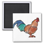 New Rooster Magnet