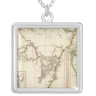New S Wales, Van Diemen's Land Personalized Necklace