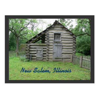 New Salem, Illinois Postcard