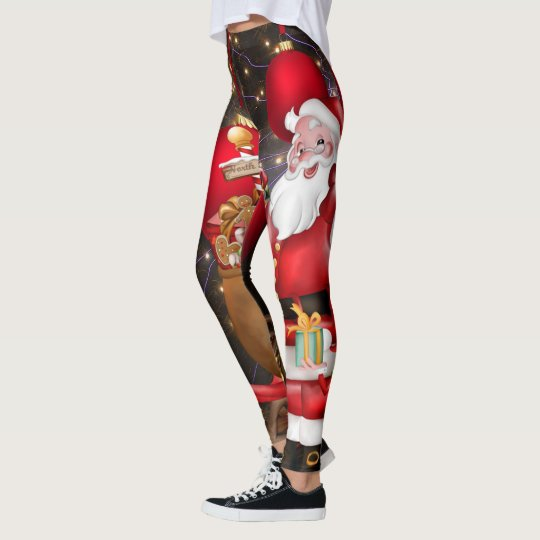 New Santa Claus Leggings | Zazzle.com