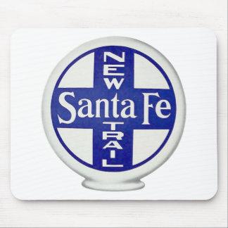New Santa Fe Trail - Vintage Advertising Mouse Pad