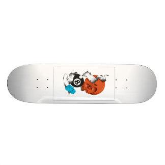 new school skateboard