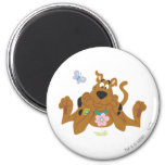 New Scooby Doo Review Pose 40 2 Inch Round Magnet